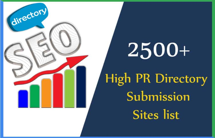 2500+ High Page Rank Free Directory Submission Lists