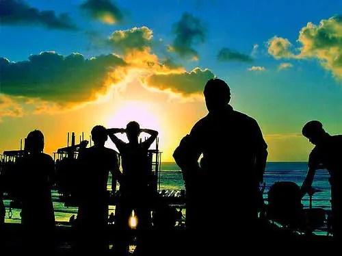 Party @ Kuta Beach, Bali