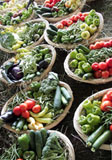 Pictures of vegetable baskets