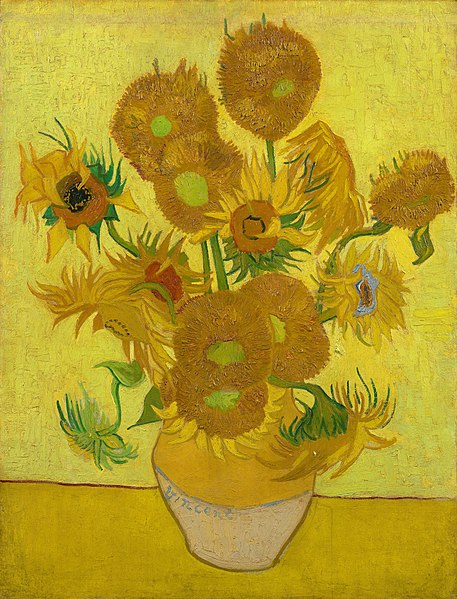 457px-Vincent_van_Gogh_-_Sunflowers_-_VGM_F458