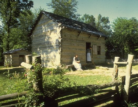 Abraham Lincoln's boyhood home