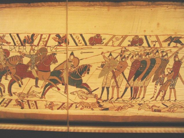 A Picture of the Bayeux Tapestry