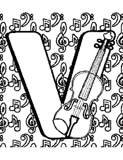 Letter_V_Coloring_Page