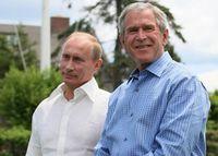 Bush withPresident of RussiaVladimir Putin