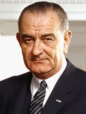 300px-37_Lyndon_Johnson_3x4