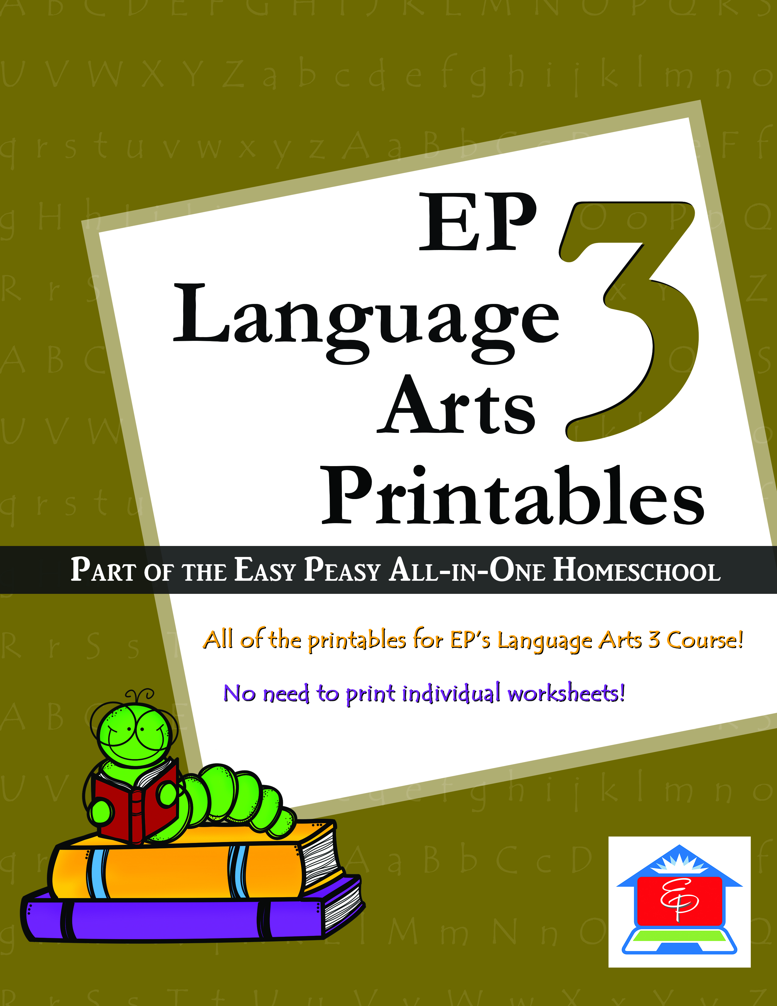 Language Arts 3 Easy Peasy All In One Homeschool