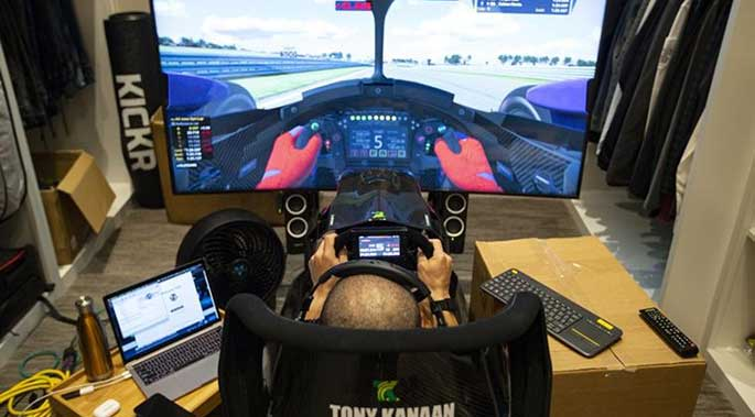 Virtual Racing Brings NASCAR and IndyCar Action during Pandemic