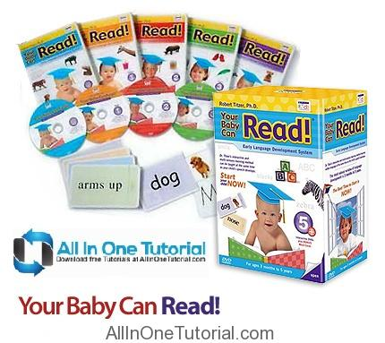 Your Baby Can Read – The Complete Series 5 DVD Teach reading to children instructional Tutorial Free Download