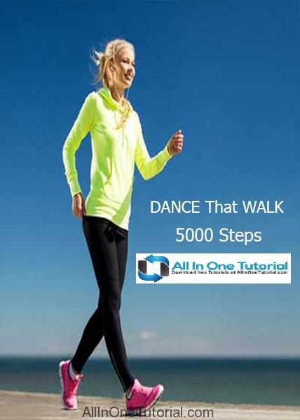 DANCE That WALK 5000 Steps (Dance Video Training) Free Download