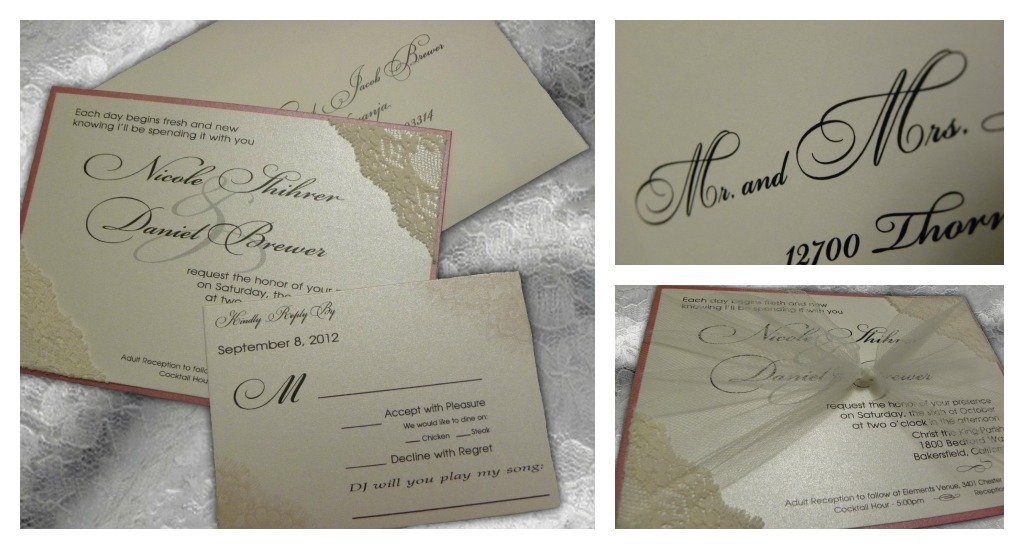 shihrer brewer wedding invitation layout all in the invite