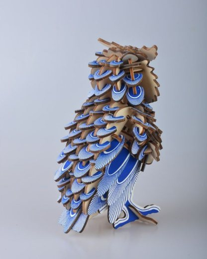 Maquette chouette 3D 2