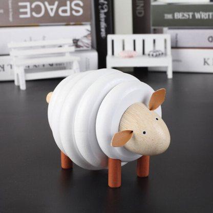 Mouton en bois 4