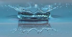 water drop impact