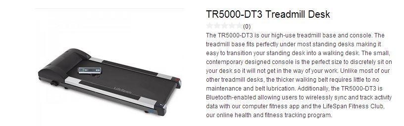 lifespan treadmill base TR5000-DT3