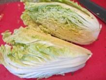 Napa cabbage.
