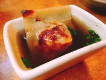 guinea hen dumpling with aromatic broth 3