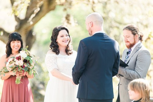 A Modern Sisterdale Dancehall Wedding in Boerne Texas by Allison Jeffers Wedding Photography featuring a sage, burgundy, and pale pink color palette 0023