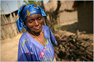 The son of Ludia Kavira Nzuva, 67, was among at least 150 people killed in little more than 24 hours by rebels in Kiwanja, Congo. (Michael Kamber for The New York Times)