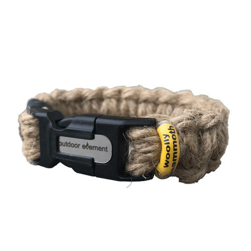 outdoor element woolly mammoth fire bracelet