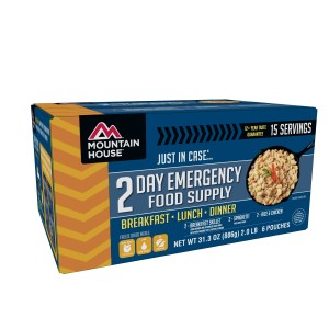 Mountain House – Emergency 2 Day Food Supply