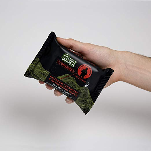 combat wipes outdoor camping commando wipes