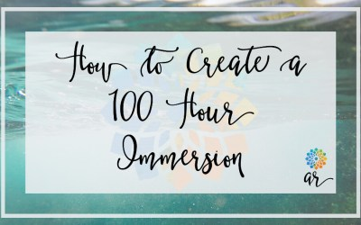Create a 100-hour Yoga Immersion