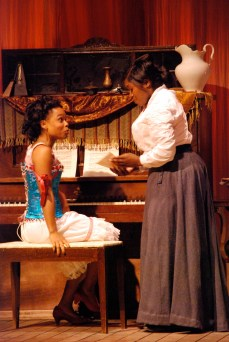 Mayme and Esther at the Piano