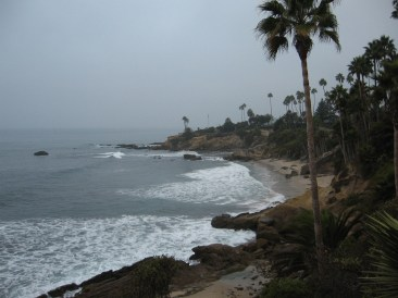 CALIFORNIA COASTLINE. Somewhere between Laguna Beach and Cambria.