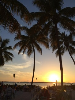 Keys sunset. Islamorada