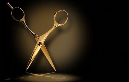 salon scissors