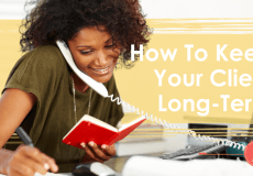 How To Keep Your Client Long Time