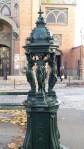 Water fountain, Montmartre