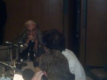 """Placido Domingo being interviewed by Alan Chapman and Duff Murphy: Opening night of """"I Due Foscari"""" at LA Opera (photo by CK Dexter Haven)"""