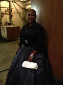"Shannita Williams (LA Opera's Associate Director of Communications, Social Media): Opening night of ""I Due Foscari"" at LA Opera (photo by Gail Eichenthal)"
