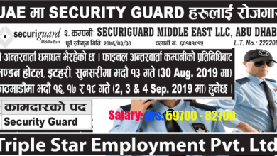 Photo of 200 Candidate Require for Security Guard job in UAE