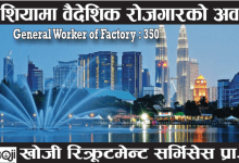Photo of 350 Candidate Required for work in Malaysia