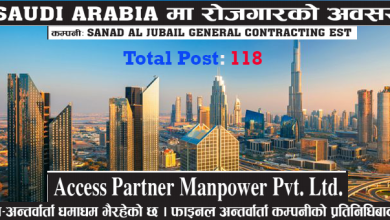 Photo of 118 Candidate Required for Work in Saudi Arabia