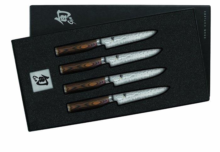best shun knives shun premier steak knives