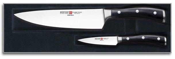 Wusthof Classic Ikon cooks starter knife set