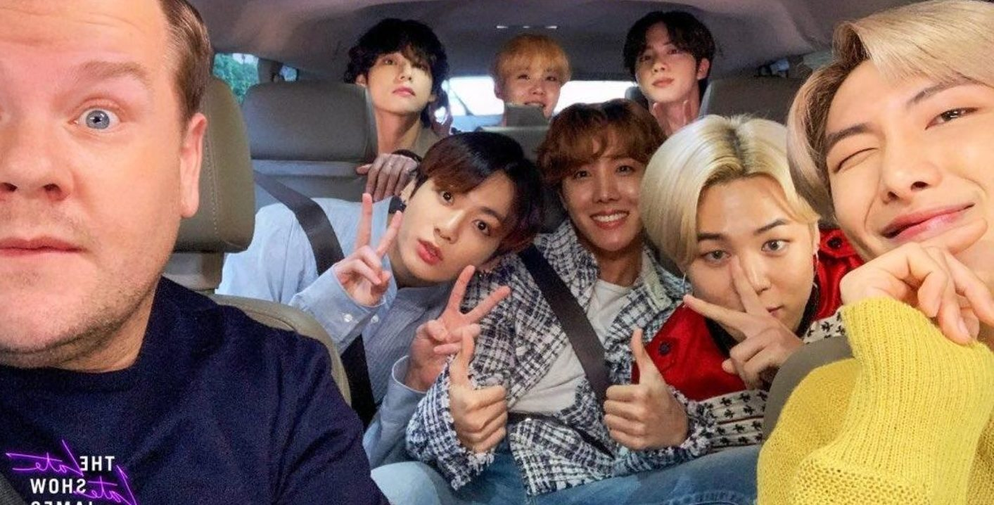 BTS and James Corden will meet again at MAMA 2020