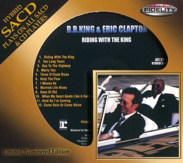 B.B. King & Eric Clapton - Riding With The King (2000 ...