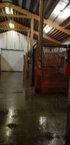 barn cleaning
