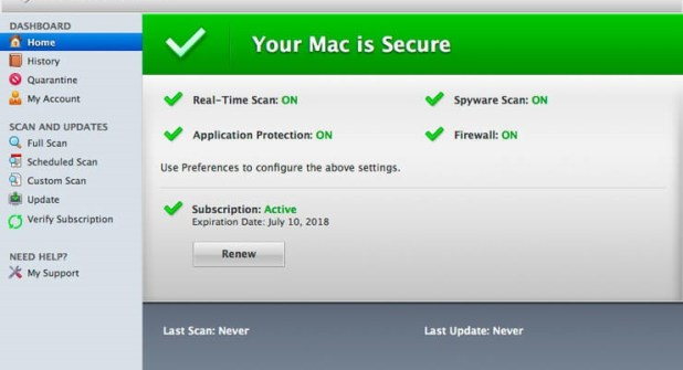 McAfee VirusScan Enterprise 9.8 For Mac Free Download