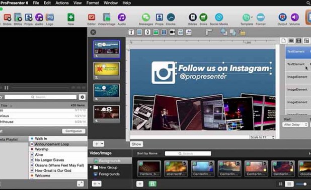 ProPresenter 6.3 for Mac Free Download