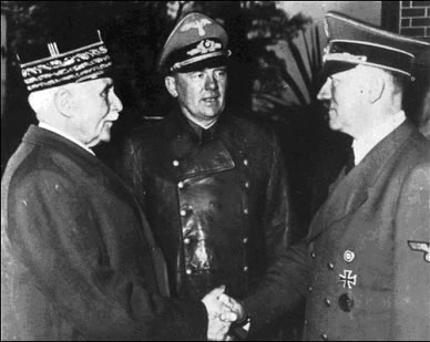 RENCONTRE Pétain Hitler octobre 1940