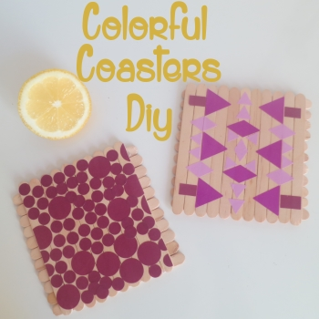 0.COLORFUL COASTERS