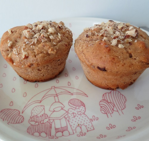 7.muffins choco-noisettes