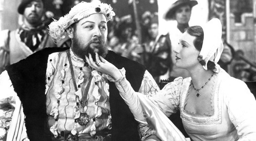 (The Private Life of Henry VIII).Avec Charles Laughton, Elsa Lanchester.