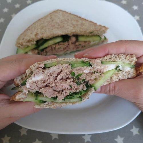 Sandwiches concombre 8