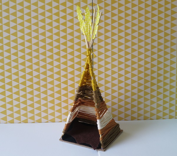 11c.DIY INDIAN SIPRIT LE TIPI